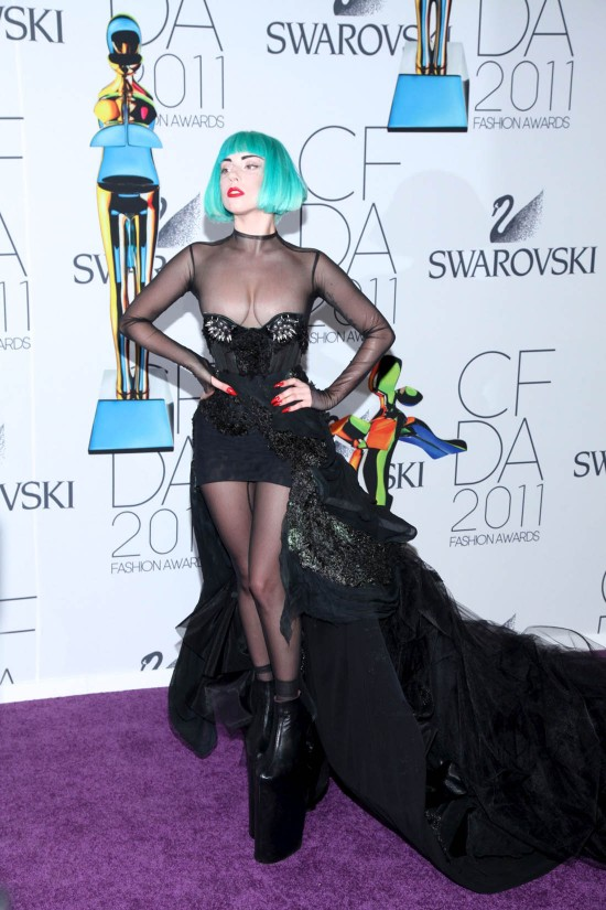 Lady Gaga fASHION AWARDS 2011