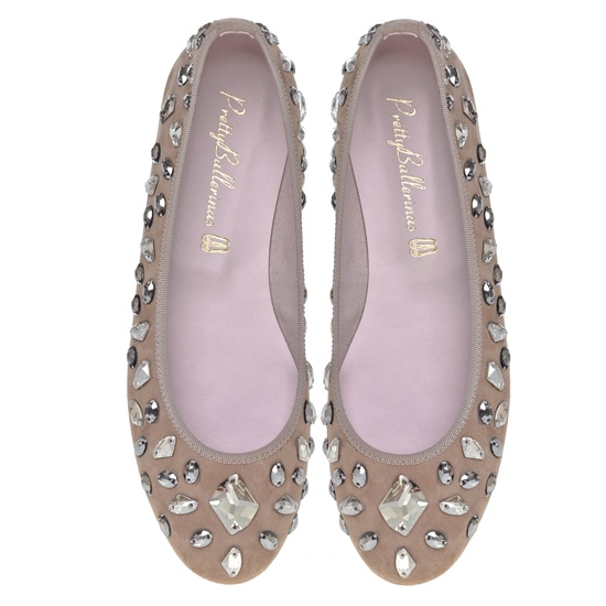 Swarovski Elements Pretty Ballerinas