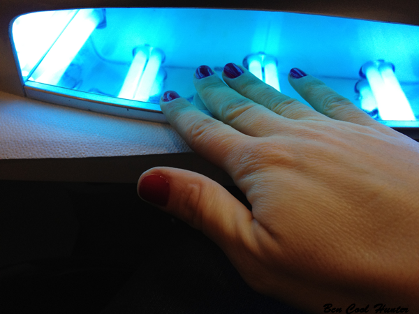 manicura-shellac lampara uv