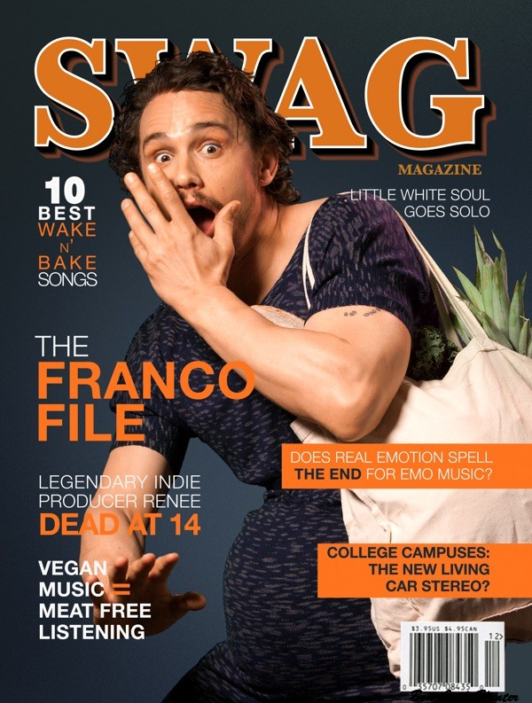 SWAG james franco embarazado