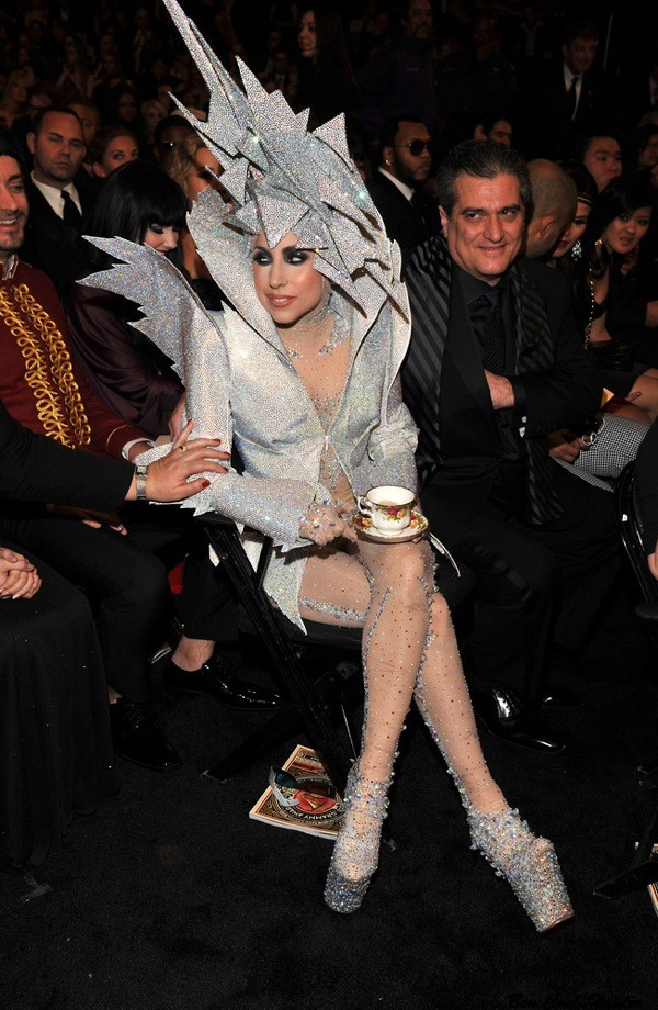 lady gaga GRAMMY Awards giorgior armani