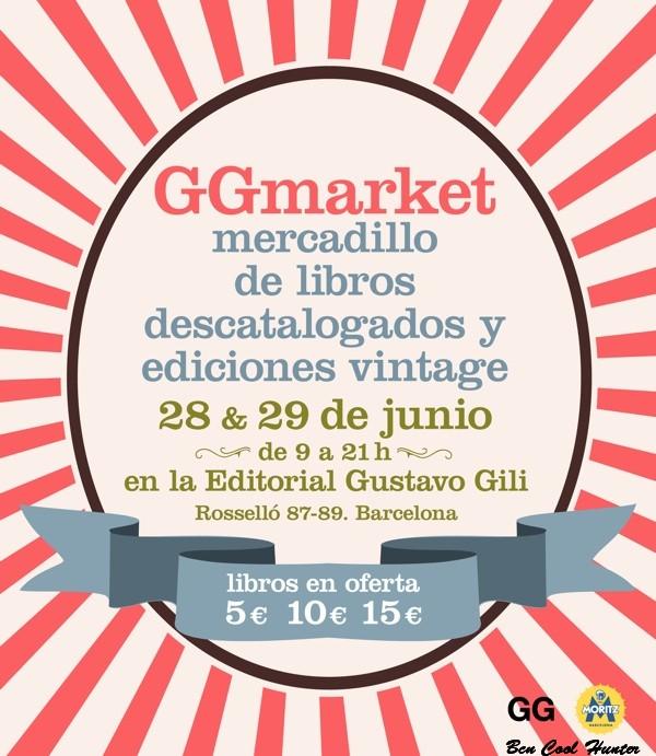 GGmarket mercadillos libro moda barcelona