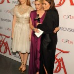 mary kate ashley olsen cfda fashion awards