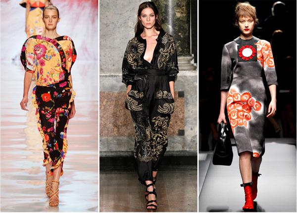 moda primavera verano 2013 oriental