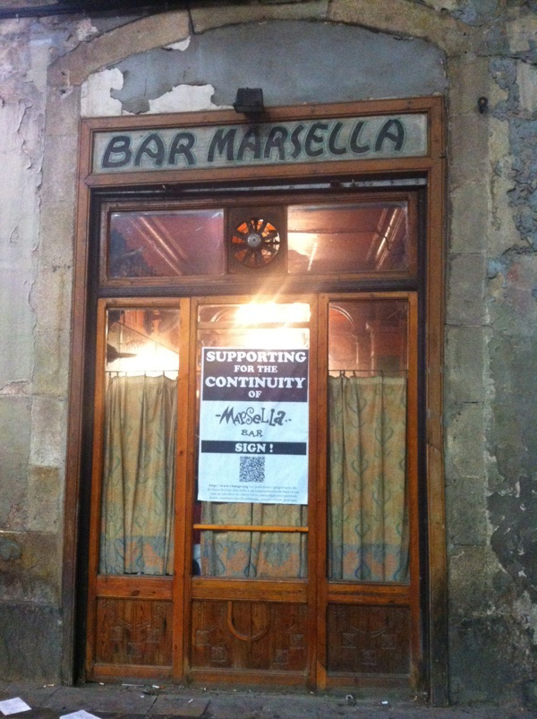 bar marsella barcelona