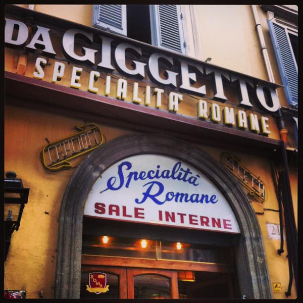 giggetto ristorante roma