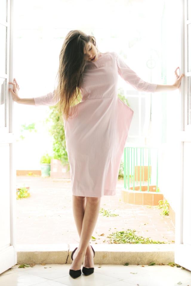 vestido balbina arias