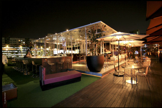 El restaurante y lounge club nuba barcelona abre las for Bar jardin barcelona