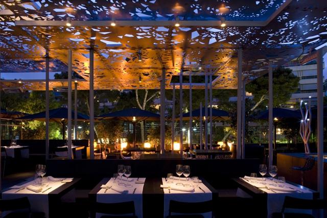 El restaurante y lounge club nuba barcelona abre las - Iluminacion para terrazas ...