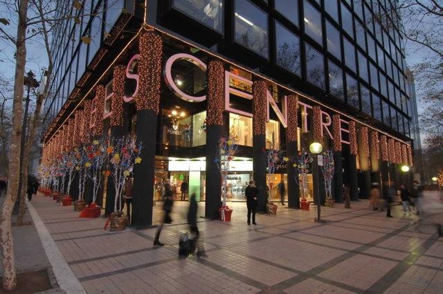 Shopping y teatro musical para la primera tsnb veraniega by intenz diagonal bcn cool hunter - Centre comercial illa ...