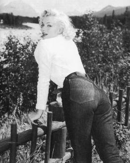marylin monroe jeans