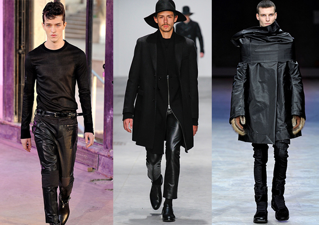 Phillip Lim, Costume National, Rick Owens f/w 2013