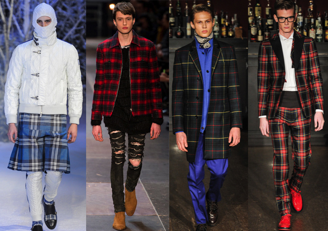 Moncler Gamme, Saint Laurent, Moschino, Moschino f/w 2013-14