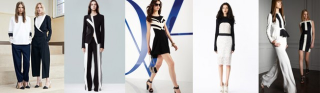 Resort Fashion 2014 Black& White-tendencia-moda pv 2014