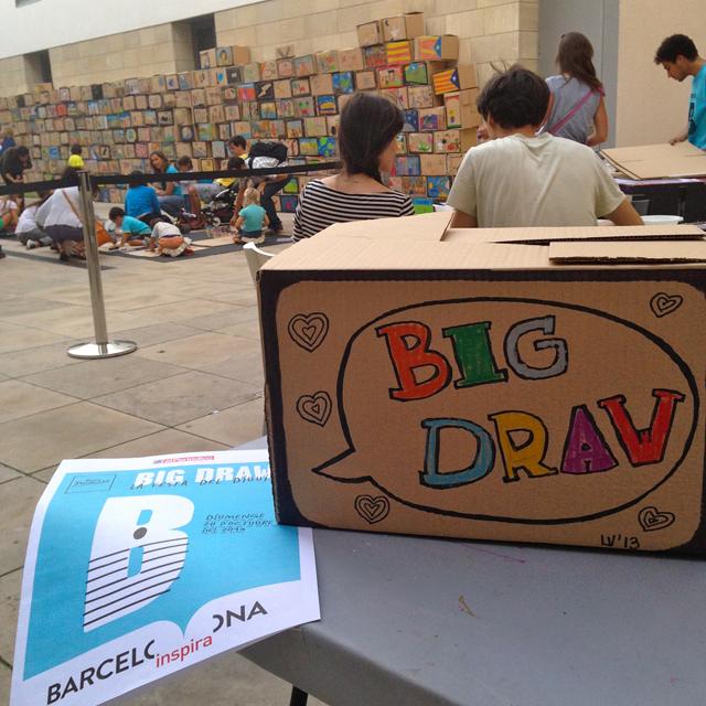 big draw barcelona 2013