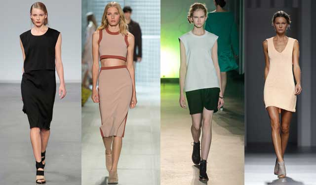 fashion trends spring summer 2014-minimal