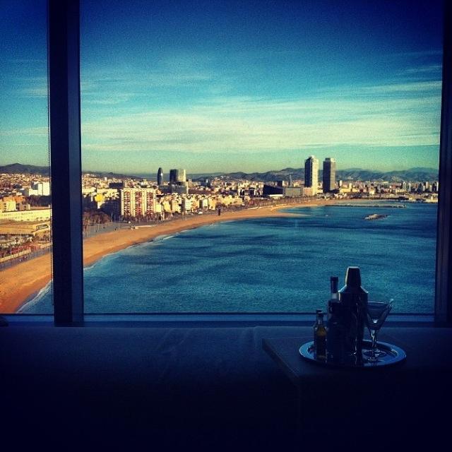 hotel w barcelona vista mar