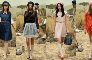orla kiely clarks zapatos primavera 2014