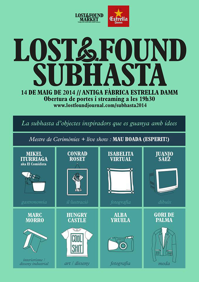 Lost & Found subasta
