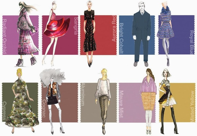 Color trend-Pantone-Fall-Winter-2014