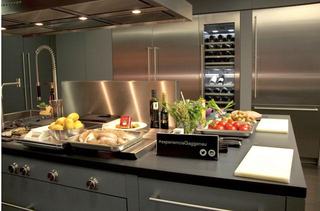 Experienciagaggenau clases de cocina con for Cocinas completas con electrodomesticos