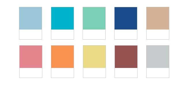 Tendencias crom ticas top 10 de los colores de moda para - Colores de moda ...