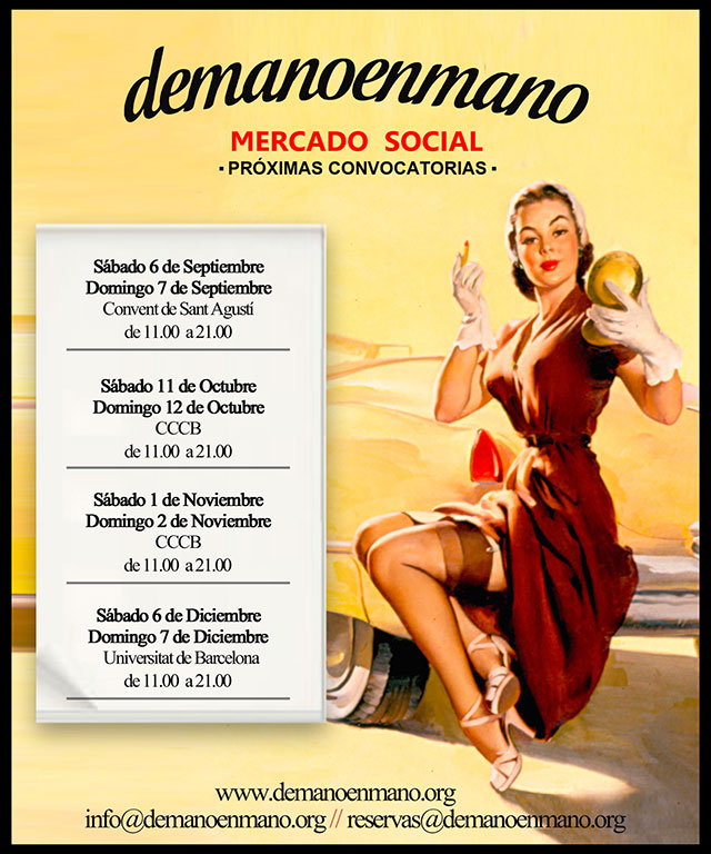 Venta de ropa vintage y segunda mano en barcelona - Mercadillo segunda mano barcelona ...