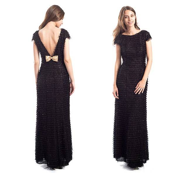 vestido negro Veneno en la Piel