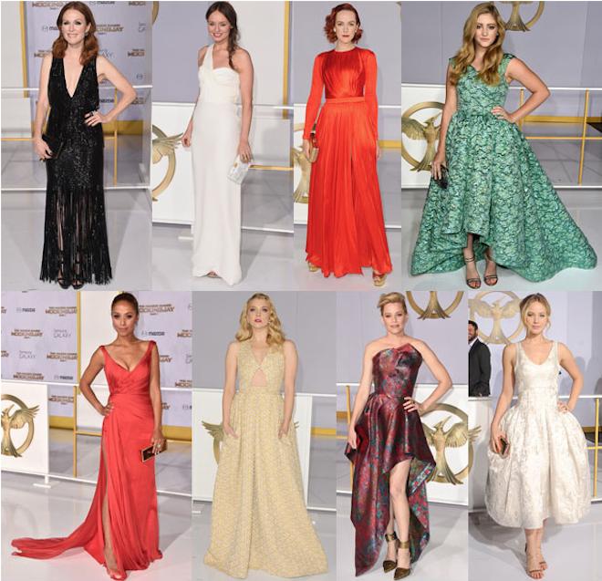 vestidos gala celebrities