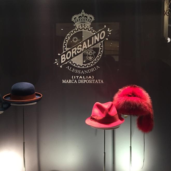 visual merchandising escaparate borsalino