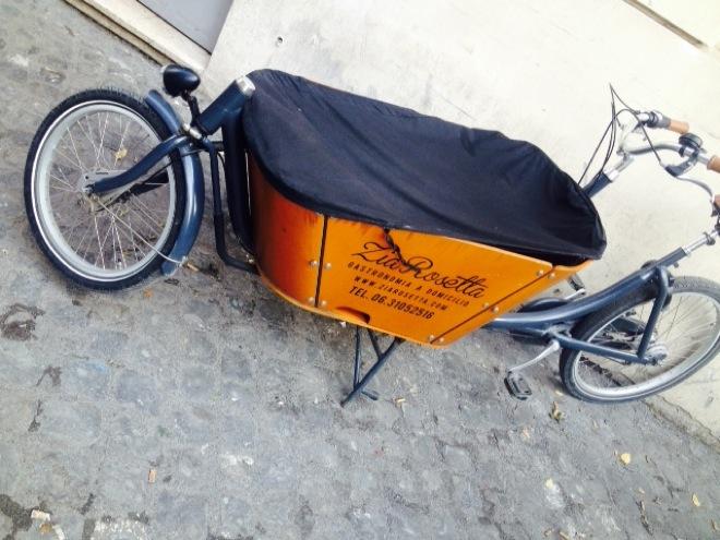 zia rosetta bicicletta