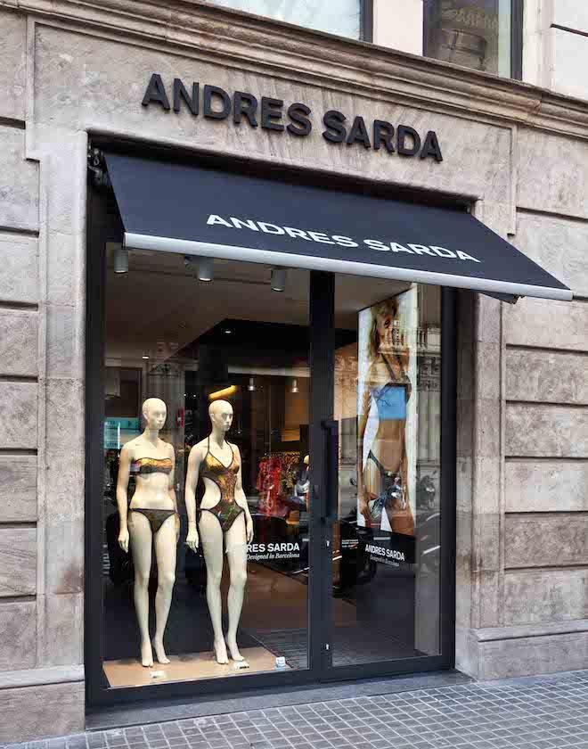 Boutique Andres Sarda fachada