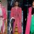 abrigo rosa moda invierno 2015