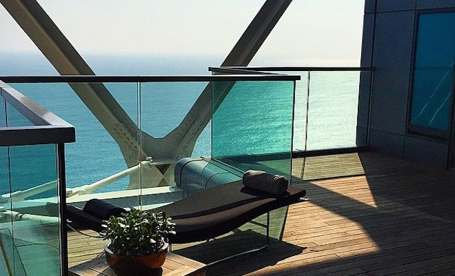 hotel arts_barcelona terraza spa