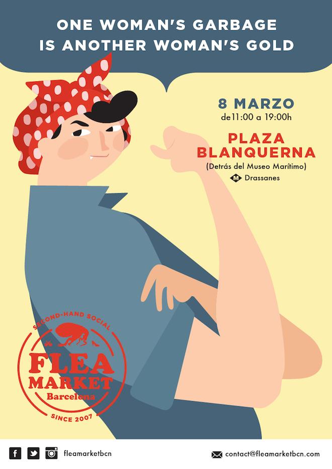 D a de la mujer trabajadora feel free tours blog - Mercados de segunda mano barcelona ...
