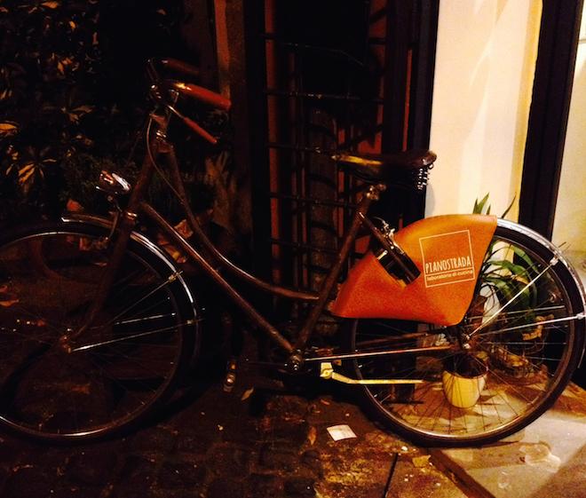 pianostrada street food bicicletta