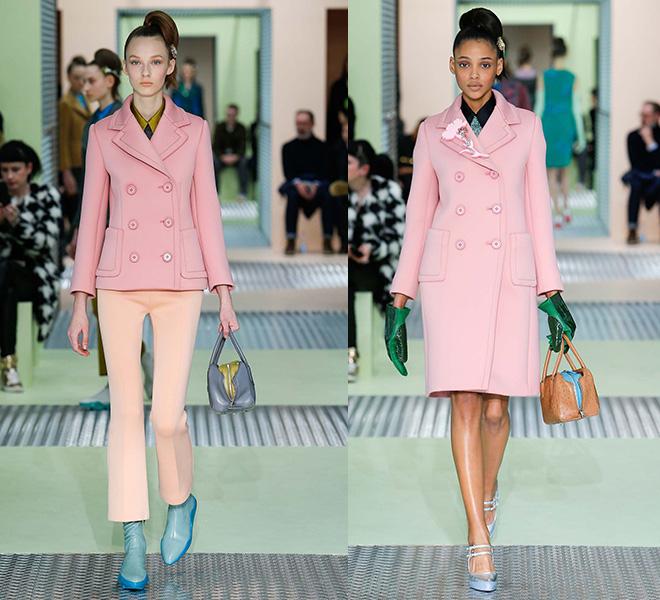 El abrigo rosa, la prenda must have del otoño inverno 2015 para taparse del frío