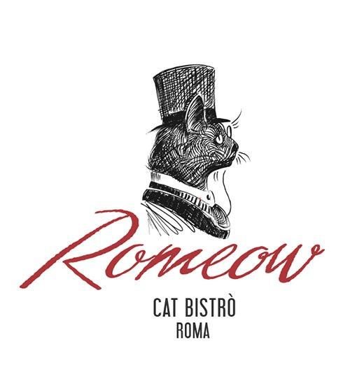 Romeow Cat Bistrot logo