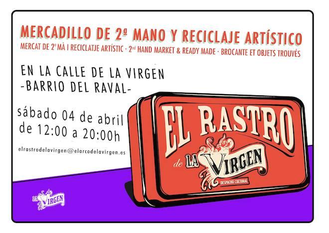 Moda vintage segunda mano y street food todos los - Mercadillo segunda mano barcelona ...