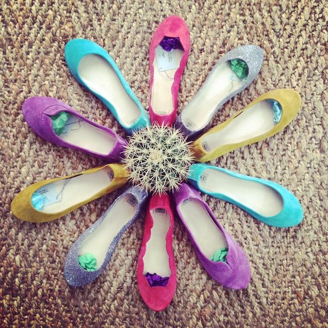 ele handmade zapatos flats artesanales
