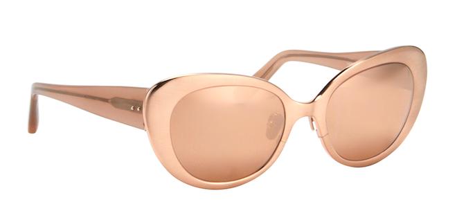 linda farrow gafas ovales