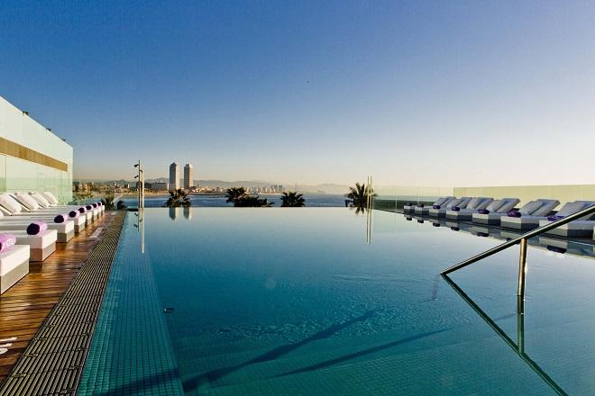 W Barcelona Inaugura Sun Deck Su Nueva Terraza Con Infinity Pool Bcn Cool Hunter