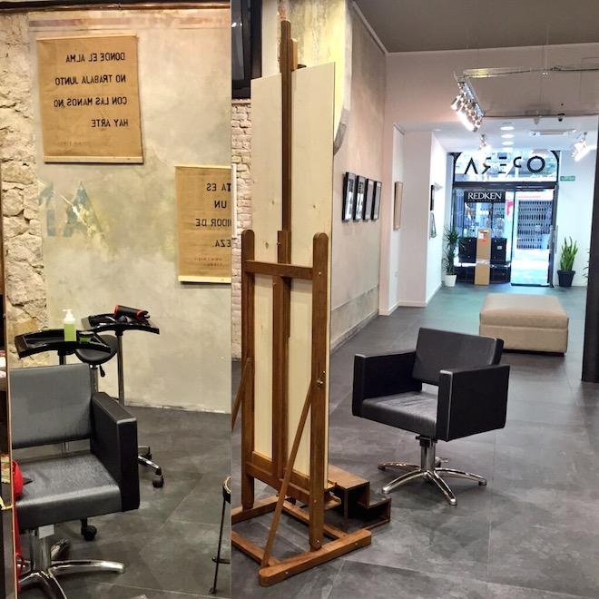 Opera lounge barcelona un sal n de belleza en una galer a for Administrar un salon de belleza