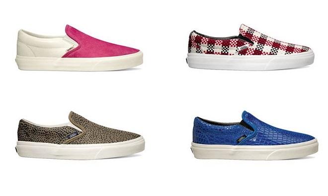 Nuevos modelos Slip-on de Vans