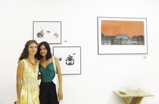 Con la artista Carolina Häfner, alias Koko