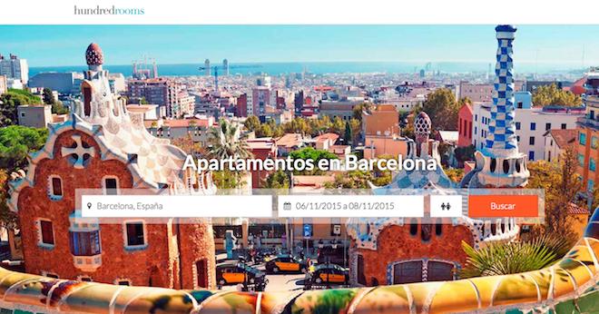 hundredrooms piso barcelona