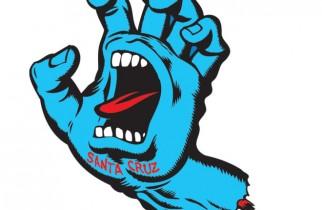 Screaming hand Santa cruz