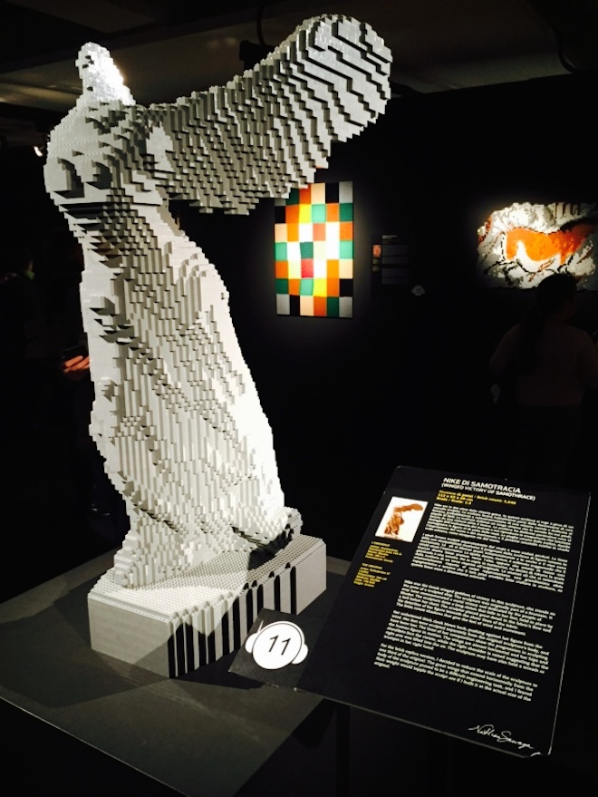 The Art of the brick 10