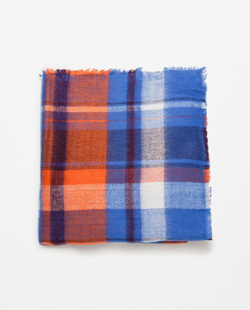 bufanda granny azul