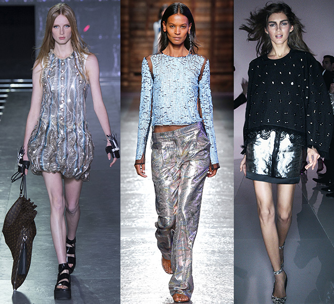SILVER: Louis Vuitton, Emilio Pucci, Tom Ford SS16